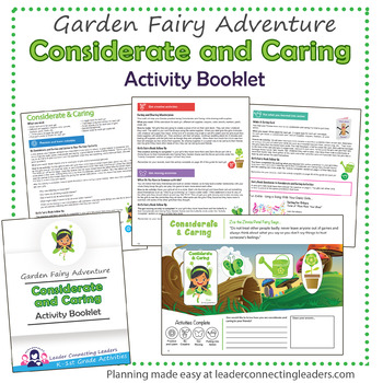 Daisy Considerate and Caring Petal Fairy Activity Booklet