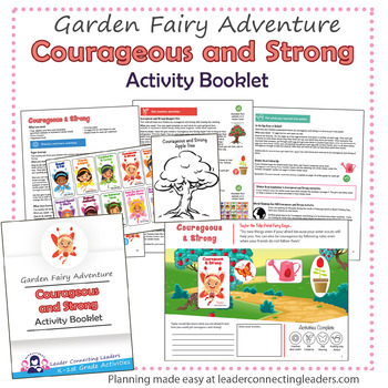 Daisy Courageous and Strong Petal Fairy Activity Booklet