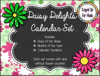 Daisy Delights Calendar Set