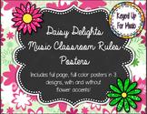 Daisy Delights Music Classoom Rules
