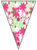 Daisy Delights Welcome To Music Pennant Banners