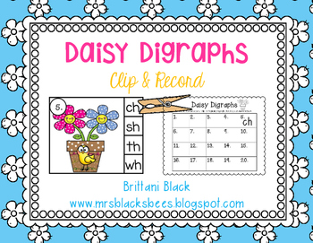 Daisy Digraphs~ Clip and Record