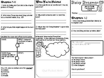 Daisy Dreamer #1: Totally True Imaginary Friend Comprehension Brochure