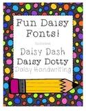 Daisy Fonts