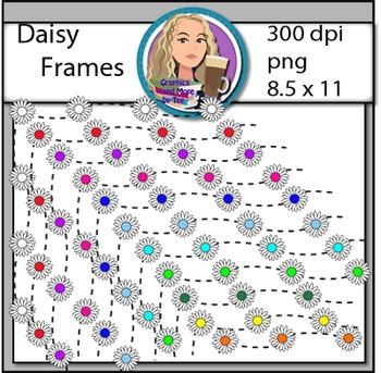 Daisy Frame Clipart