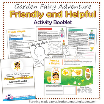 Daisy Friendly and Helpful Petal Fairy Activity Booklet