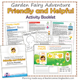 Daisy Girl Scout Friendly and Helpful Petal Fairy Activity Booklet