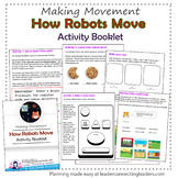 Daisy Girl Scout How Robots Move Activity Booklet