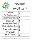 Daisy Girl Scout Money Counts Leaf Worksheet