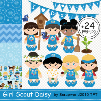 Daisy Girl Scout clipart