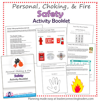 Daisy Girl Scout Safety Activity Booklet