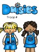 Daisy Girl Scout Troop Leader Binder Covers