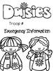 Daisy Girl Scout Troop Leader Binder Covers-Freebie!