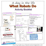 Daisy Girl Scout What Robots Do Activity Booklet