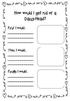 Daisy-Head Mayzie Sequencing Writing Activity FREE