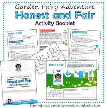 Daisy Honest and Fair Petal Fairy Activity Booklet