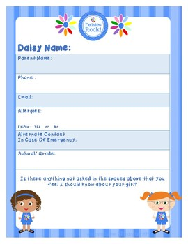Daisy Information Sheet