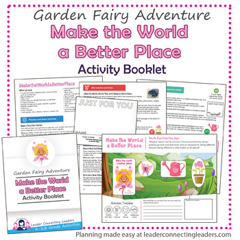 Daisy Make The World A Better Place Petal Fairy Activity Booklet