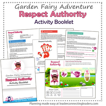 Daisy Respect Authority Petal Fairy Activity Booklet