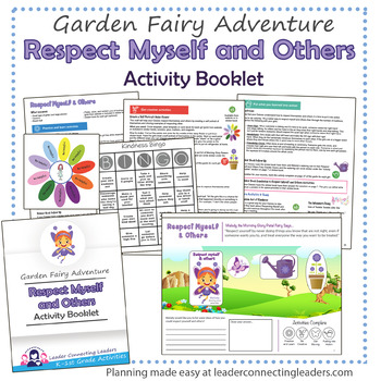 Daisy Respect Myself and Others Petal Fairy Activity Booklet