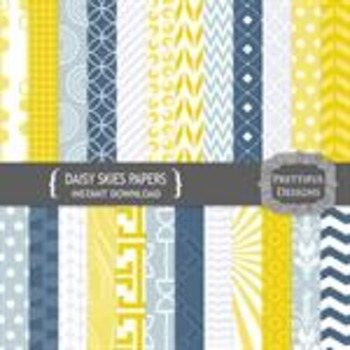 Daisy Skies Paper Pack