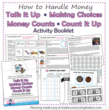 Daisy Talk it Up Making Choices Money Counts & Count It Up Leaf Activity Booklet