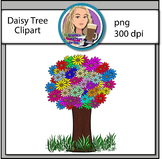 Daisy Tree Clipart