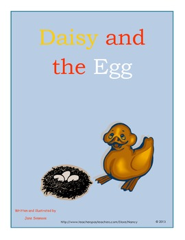 Daisy and the Egg by Jane Simmons spring reading unit and activities