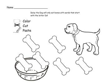 Daisy the Dog Dd sort