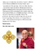 Dalai Lama Handout