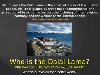 Dalai Lama Presentation
