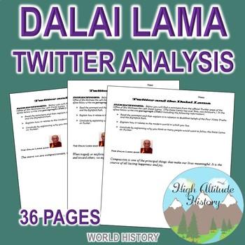 Dalai Lama Twitter Analysis (Buddhism) Religion / World History