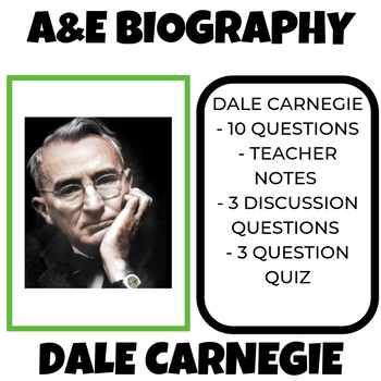 Dale Carnegie  A and E Biography