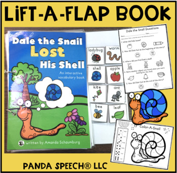 Dale the Snail Lost His Shell! An interactive & adaptive book