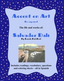 Dali- Accent on Art, Spanish Art Packets for the Spanish Classroom