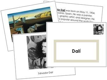 Dali (Salvador) Art Book - Color Border