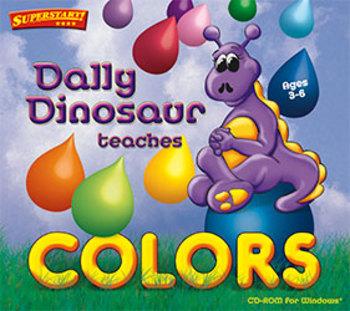 Dally Dinosaur Teaches Colors