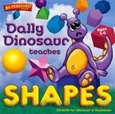 Dally Dinosaur Teaches Shapes