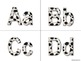Dalmatian Alphabet (Word Wall Tags)