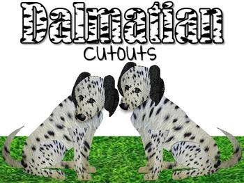 Dalmatian Cutouts