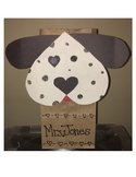 Dalmatian Dog template