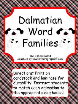 Dalmatian Word Families