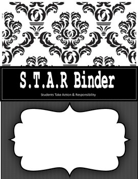 Damask Binder Covers and Spines