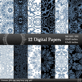 Damask Making Instant Download Card Embellishment Lace Orn