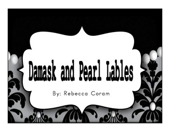 Damask and Pearl Lables