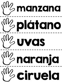 Dame Cinco - Give Me Five Dual Language Alphabetizing Center