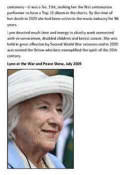 Dame Vera Lynn Handout