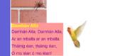 Damhán Alla poem