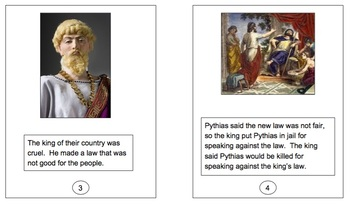 Damon and Pythias Easy Reader Kit, A Greek Legend (Folklore)