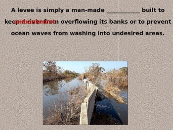 Dams and Levees PowerPoint